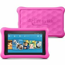 """Genuine Tempered Glass Screen Cover For Amazon Kindle Fire Kids Edition 7"""" 2015"""