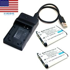 Battery / USB Charger For Kodak Easyshare M552 M575 M577 M580 M583 M873 M883 NEW