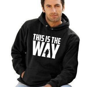 This Is The Way Hoodie Star Wars Hooded Sweatshirt Boba Fett Armorer Mandalore