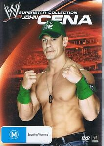 WWE Wrestling Superstar Collection JOHN CENA DVD - NEW & SEALED Free Post