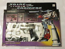 G1 1984 MEGATRON • C8-9 • 100% COMPLETE • BOXED GENERATION ONE TRANSFORMER