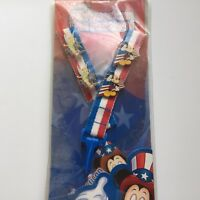 DLR Mickey's All American Pin Trading Festival Lanyard Starter Disney Pin 22718