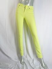 Madewell J Crew Yellow Colored Skinny Skinny Jeans Sz 26 x 32
