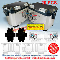 Kit COMPLETO adesivi borse valigie BMW R1200 GS Adventure BUSSOLA bags stickers
