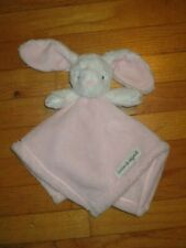 New listing Htf Blankets & Beyond White Pink Bunny Rabbit Security Blanket/Lovey