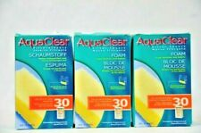 Aqua Clear 30 Foam Filter Inserts for 10.3 US Gallon Fish Tanks Hagen Auparavant