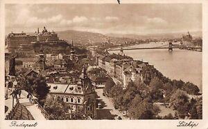 Budapest Totalansicht / Látkép ngl 150.017