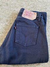 levis 501 Black Vintage Jeans W29 L30