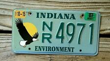 2007 Indiana Environment License Plate/Tag with Flying Eagle