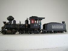 On30 4-4-0  Spectrum Logging Steam Locomotive - DCC & Sound - custom weathered
