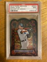 PSA 9 MINT DEREK JETER 2013 TOPPS ARCHIVES #GH-DJ GALLERY OF HEROES NY YANKEES