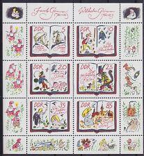 DDR im nº 2987 - 2992 ** KB pequeños arcos, cuentos de hadas XV 1985, correos frescos mnh