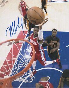 Philadelphia 76ers Nerlens Noel Autographed Signed 8x10 Photo COA A
