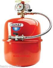 ZILMET RED HEATING EXPANSION VESSEL 24 LITRE SEALED SYSTEM KIT & FIXING BRACKET