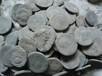LARGE UNCLEANED ROMAN COINS 15 to 36 mm MEDIUM GRADE, EVERY bid is per coin !!