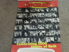 ROCKLINE POSTER LED ZEPPLIN VERY RARE IF NOT THE ONLY ONE MENY FREE SUNGLASSES