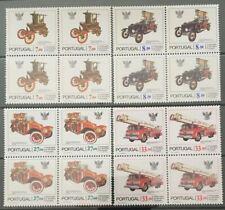 Portugal 1981 - Fireman Cars Block Four set MNH