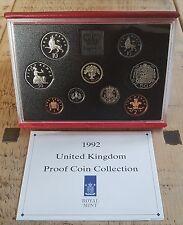 Deluxe 1992-1993 EEC presidency Proof Coin Set.