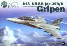 Kitty Hawk  1/48 SAAB Jas-39B/D Gripen #80118  *New*Sealed*