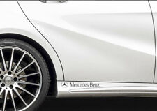 Mercedes-Benz SIDE SKIRT Adhensive CAR vinyl DECAL STICKERS  AMG  left and right