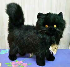 ** Gorgeous standing plush BLACK CAT ** by Bocchetta