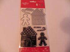 Art-C Christmas 2016 Stamp & Cut Set - Gingerbread House -#691 -NEW!!