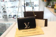 Louis Vuitton Louise Clutch GM With Box & Receipt