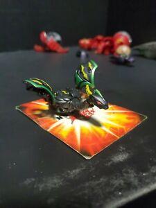 Bakugan Dharak Black Darkus Gundalian Invaders Battle Brawlers 610G horn damage