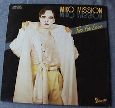 Miko Mission, two for love - italo disco, Maxi vinyl