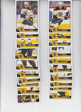 16/17 OPC Boston Bruins Team Set w/RC and Insert - Chara Acciari RC +