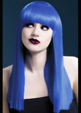 Deluxe Gothic Long Blue Alexia Wig