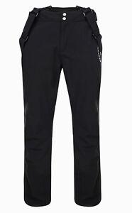 Mens BLACK Dare2b CERTIFY II Stretch Ski Salopettes Pants S - 3XL SHORT LEG