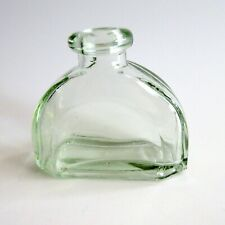 Green Glass Bottle Curved Half Dome Decorative Home Decor Diffuser Flower Stems