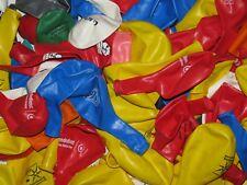 100 bunte große Luftballons Fehldrucke mit 95 cm Umfang 30 cm Durchmesser Neu