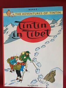 Adventures of Tintin - Tintin in Tibet. Herge. Paperback. 1999 reprint. Good con