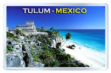TULUM MEXICO FRIDGE MAGNET SOUVENIR IMAN NEVERA