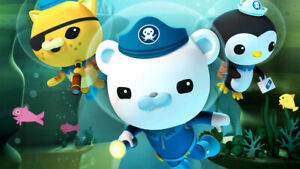 Octonauts Cbeebies Poster Bedroom Wall Art Printed on A3 Gloss Photo Paper