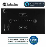 Systemline E50 In-Wall Touchscreen Bluetooth Amplifier Amazon Alexa Compatible