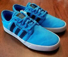 Adidas Mens 8.5 W blue SEELEY X TROY LEE DESIGNS Wide Skate Shoe NEW F35910