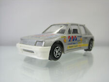 Diecast Bburago Peugeot 205 Turbo 16 1:43 in Grey Good Condition