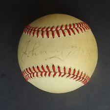 JOHNNY MIZE Signed  Baseball Autographed MacPhail PSA/DNA P27693