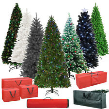 Premium Artificial Spruce Christmas Decoration Pine Stand Tree Storage Bags New