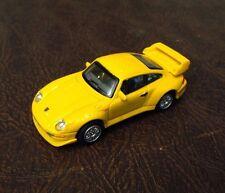 CARARAMA LINE PORSCHE 911 GT2 1:72 METAL DIECAST RARE YELLOW