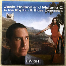 JOOLS HOLLAND & MELANIE C * I WISH * UK 2 TRK PROMO * HTF! * STEVIE WONDER