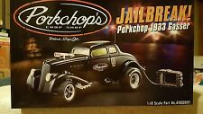 1/18 ACME GMP PORKCHOPS JAILBREAK 1933 Blown Hemi Gasser Black 1 of 960 NIB NEW