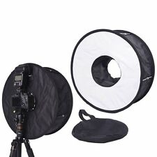 "18"" Macro Ring Flash SoftBox Diffuser for Nikon Canon Sony Nissin Yongnuo Metz"