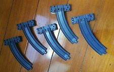 5 pieces Tomy Tomica Curved Train Track Riser Takara Trackmaster Plarail Thomas