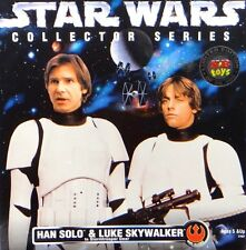 Star Wars Han Solo and Luke Skywalker in Stormtrooper Gear Edition Collector Act