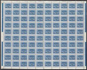 ISTRIA Slovenian coast 1947 ☀ VUJA ovptd. / Yu official L6 / 0.50 ☀ SHEET of 100