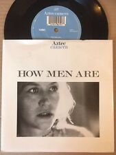 """AZTEC CAMERA 7"""" - HOW MEN ARE / THE RED FLAG - WEA RECORDS YZ168 PIC/SLV"""